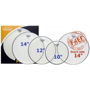 """ProPack AMBASSADOR transparente 10"""", 12"""", 14"""" + Timbre 14"""" OFFERTE"""