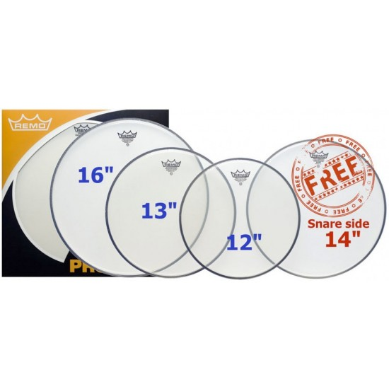 "ProPack AMBASSADOR transparent 12"", 13"", 16"" + Timbre 14"" OFFERTE"