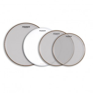 "PACK CLASSIC CLEAR transparente 10"", 12"" ,16"" + Satin Finish 14"""