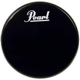 "Peau de résonance 24"" grosse-caisse ""Black Beat"""