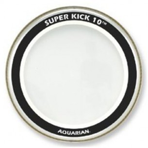 "SUPER-KICK 10 transparente 24"" Grosse-caisse"