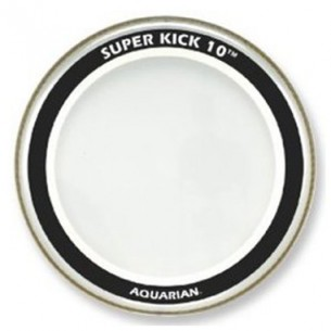 "SUPER-KICK 10 transparente 22"" Grosse-caisse"