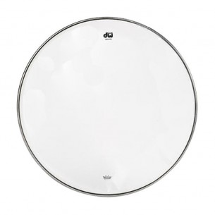 "DW Peau de Caisse Claire 10"" Resonance Transparente"