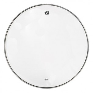 "DW Peau de Caisse Claire 13"" Resonance Transparente"