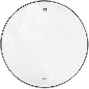 "DW Peau de Caisse Claire 15"" Resonance Transparente"