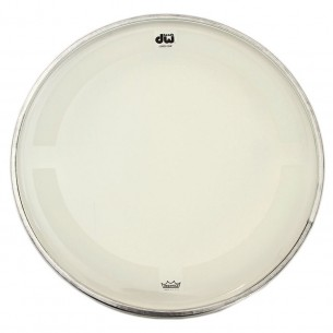 "DW Peau de Tom 18"" Coated Clear"