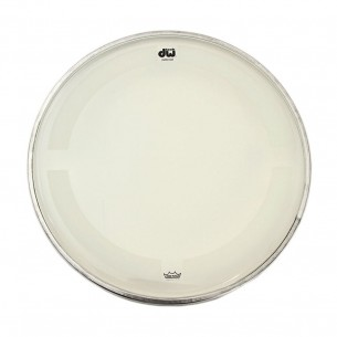 "DW Peau de Tom 15"" Coated Clear"