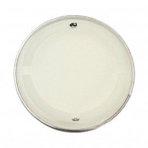 "DW Peau de Tom 13"" Coated Clear"