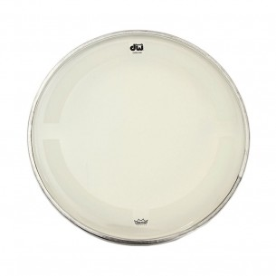"DW Peau de Tom 10"" Coated Clear"