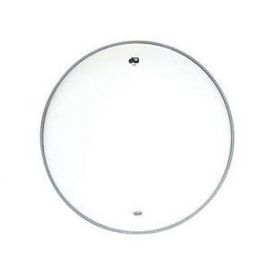 "DW Peau de Tom 10"" Transparente"