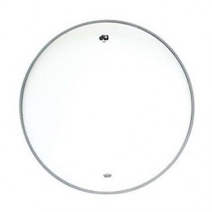 "DW Peau de Tom 15"" Transparente"