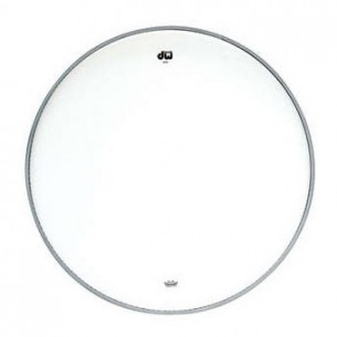 "DW Peau de Tom 16"" Transparente"