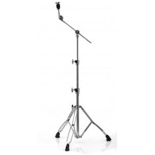 MARS B600 - Stand cymbale perche, 3 parties, perche rentrante, double embase