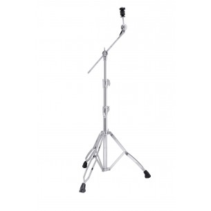 ARMORY B800 - Stand cymbale perche, 3 parties, perche rentrante, double embase, tilter à frein - CHROME