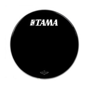 """BK18BMTT - Peau de résonance noire 18"""" grosse-caisse - logo Tama Starclassic"""